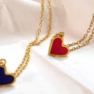Κολιέ Καρδιά Χρυσό