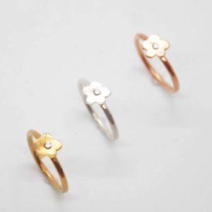 Δαχτυλίδι Λουλούδι Χρυσό