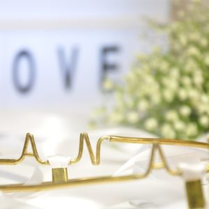 Στέφανα Γάμου Μονογράμματα Χρυσά