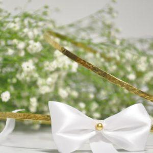 Στέφανα Γάμου Πλακέ Σφυρήλατα Χρυσά