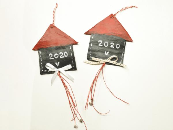 Γούρι 2020 Διακοσμητικό Σπιτάκι