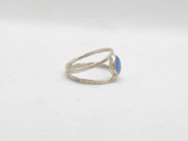 Δαχτυλίδι Διπλό Με Χρώμα Ασημένιο