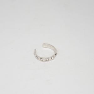 Σκουλαρίκι Μικρός Κρίκος Ασήμι 925