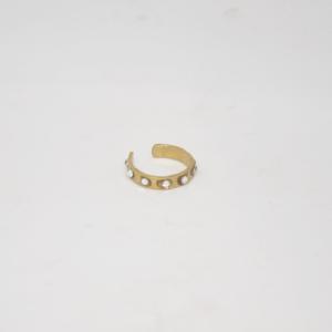 Σκουλαρίκι Μικρό Κρικάκι Χρυσό