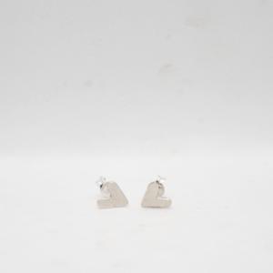 Σκουλαρίκια Καρδούλες Ασημένια