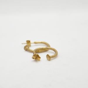 Σκουλαρίκια Μικρά Κρικάκια Χρυσά