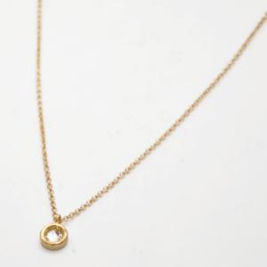 Κολιέ Μικρό Με Swarovski Χρυσό