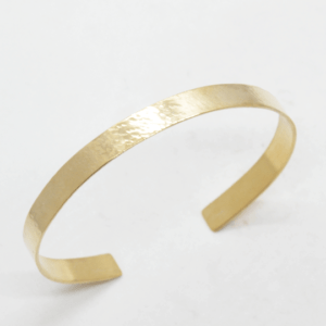 Βραχιόλι Χειροπέδα Σφυρήλατη Χρυσή