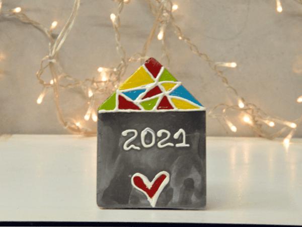 Γούρι 2021 Bauhaus Διακοσμητικό Σπιτάκι Μικρό