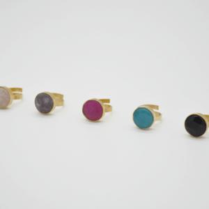 Δαχτυλίδι Με Πέτρα Χρυσό