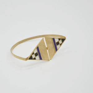 Magpie Βραχιόλι Με Τρίγωνα Χρυσό